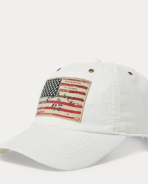 Flag Patch Chino Baseball Cap  bb836f28ff0