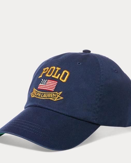 5c098a49d6cf1 Polo Ralph Lauren Flag Baseball Cap 1