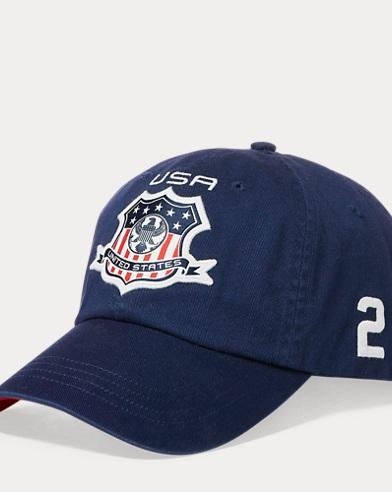 USA-Kappe aus Baumwollchino