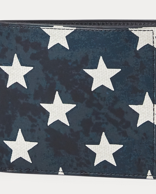 1c2cc15954 Star-Spangled Leather Wallet