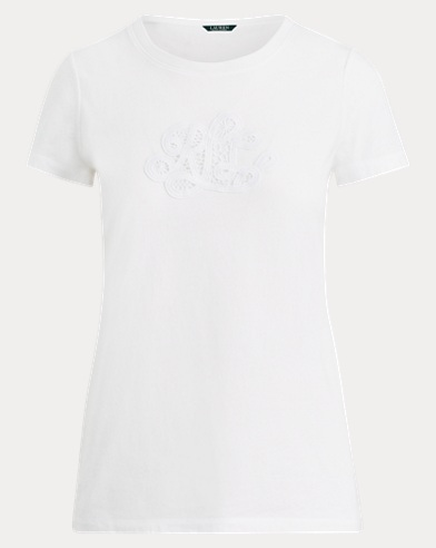 Embroidered Monogram T-Shirt