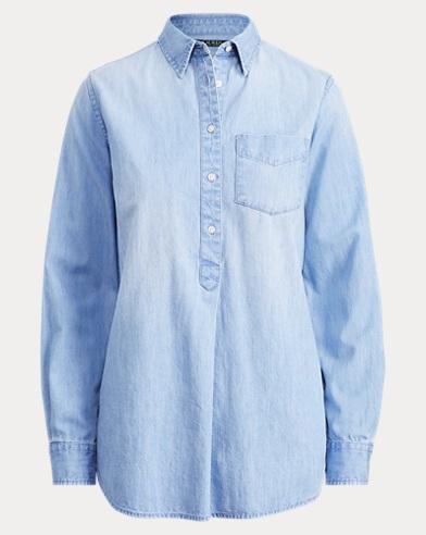 Relaxed Denim Shirt