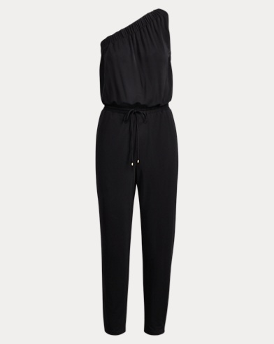 Jersey One-Shoulder Jumpsuit