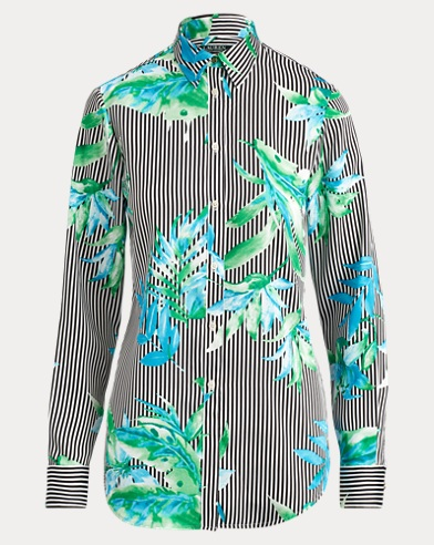 Print Button-Down Shirt
