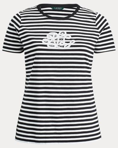 Monogram Striped T-Shirt