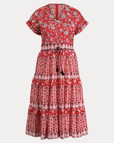 Print Sateen Dress