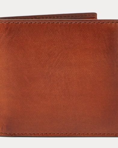 Hand-Burnished Vachetta Wallet