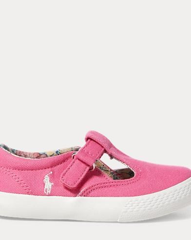Tabby T-Strap Canvas Sneaker