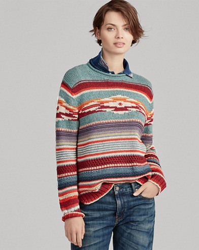 Cotton-Silk Rollneck Sweater