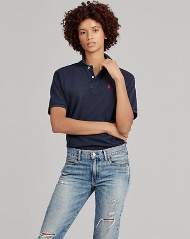 Polo coupe ample en coton