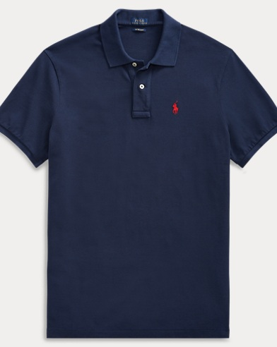 Big Fit Cotton Polo Shirt