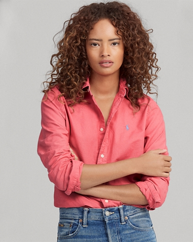 Relaxed Fit Oxford Shirt