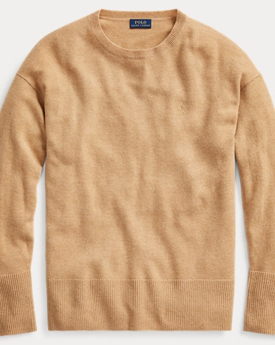 Polo Ralph Lauren. Crest Embroidered Wool Sweater. $398.00. Wool Pullover  Sweater