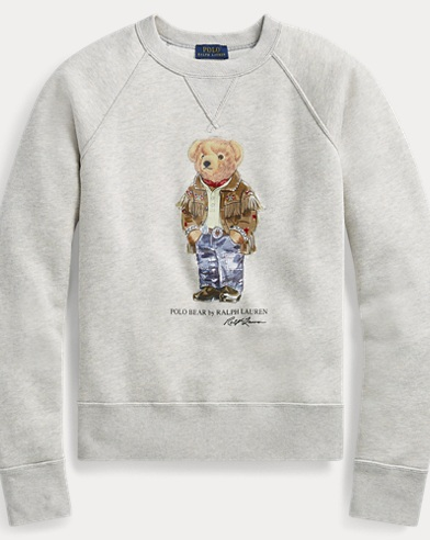Polo Bear Fleece Pullover