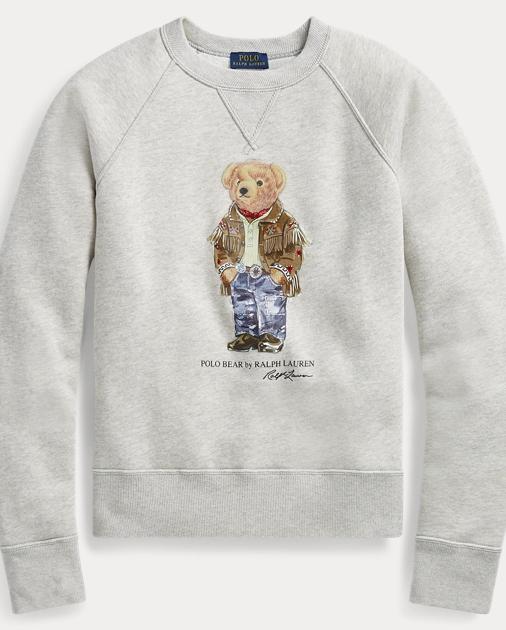 gehobene Qualität heißer Verkauf online neu authentisch Polo Bear Fleece Pullover