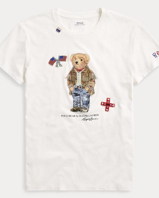 07c1c85b Polo Bear Cotton T-Shirt