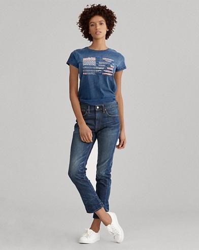 Waverly High-Rise Crop Jean