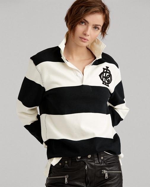 Monogram Cotton Rugby Shirt