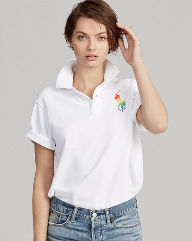 Pride Big Shirt Cotton Polo