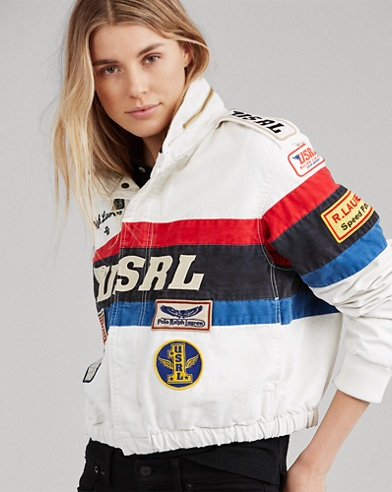 Canvas Racing Jacket