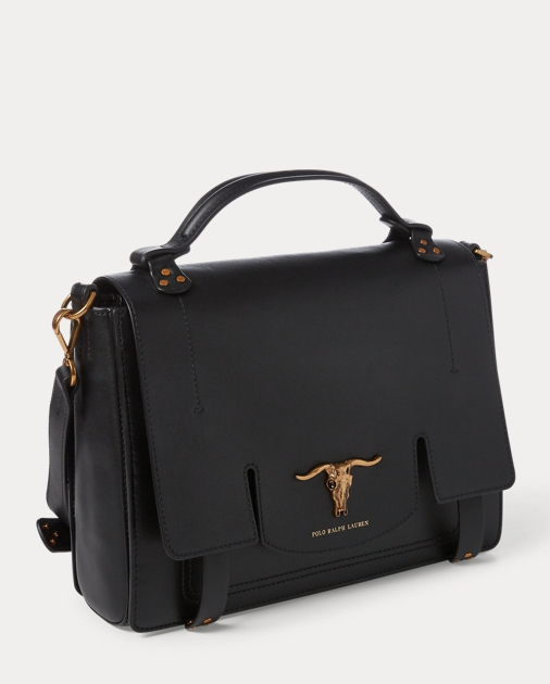 Leather Schooly Bag