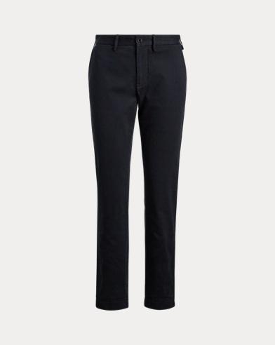 Pantaloni corti in twill