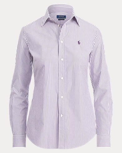 Stretch Slim Fit Cotton Shirt