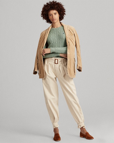 Cable Cotton jumper