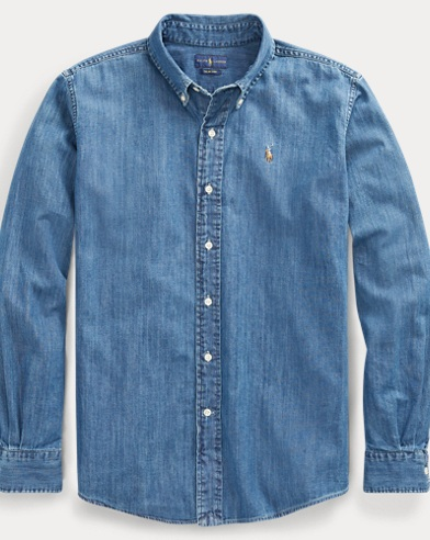 Chambray Big Shirt