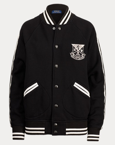 Embroidered Baseball Jacket