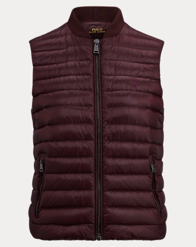Packable Down Full-Zip Vest