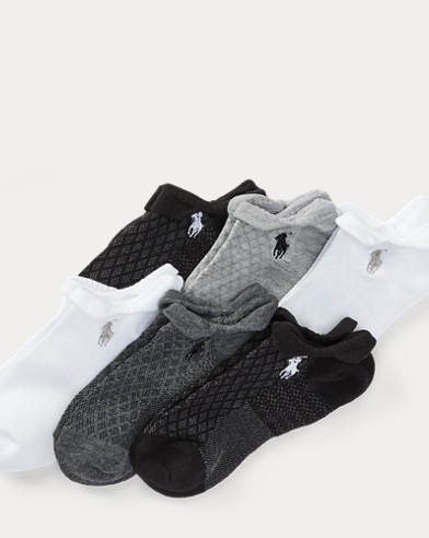 Mesh Low-Profile-Sock 6-Pack