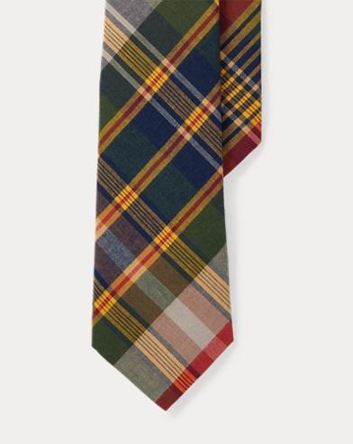 Cotton Madras Tie