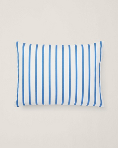 Shirting-Stripe Throw Pillow