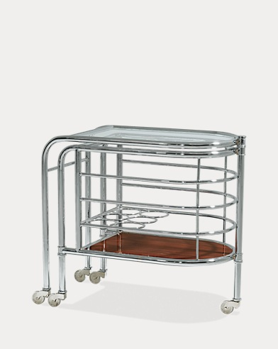 Modern Metropolis Bar Trolley