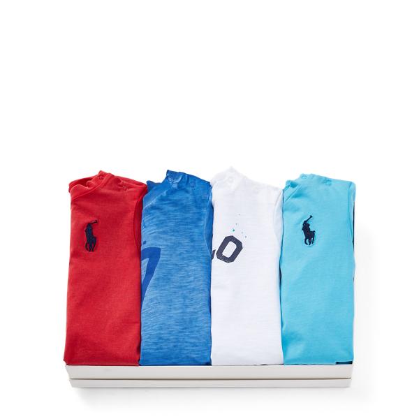 Ralph Lauren T-Shirt 4-Piece Gift Set Multi 24M