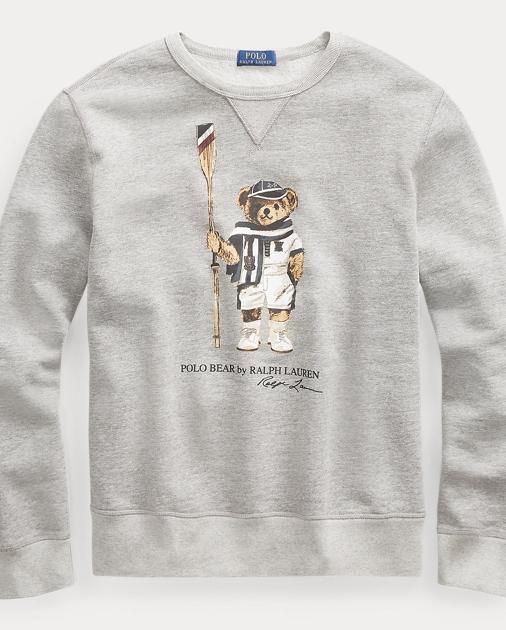 316b26829 Big   Tall Polo Bear Fleece Sweatshirt 1