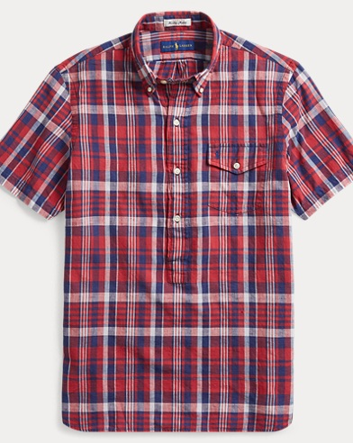 Classic Fit Madras Sport Shirt