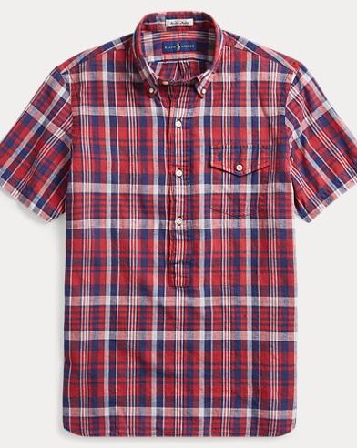 Classic Fit Madras Sport Shirt