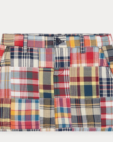 Cotton Madras Skirt