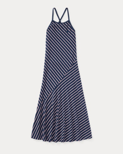 Striped Cotton Maxidress