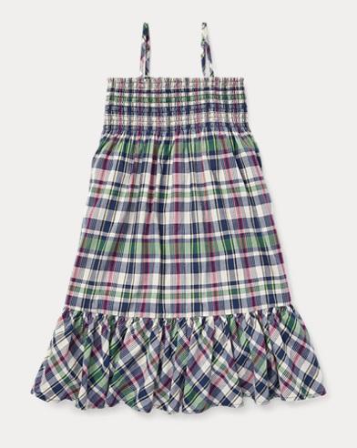 Cotton Madras Dress