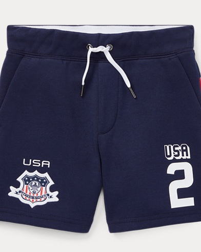 Short USA maille double à enfiler