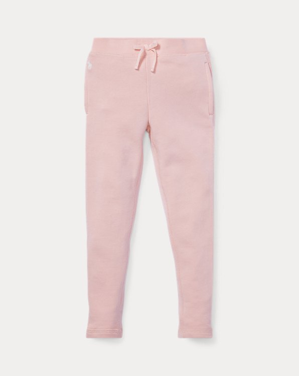 폴로 랄프로렌 여아용 레깅스 Polo Ralph Lauren French Terry Legging,Hint Of Pink