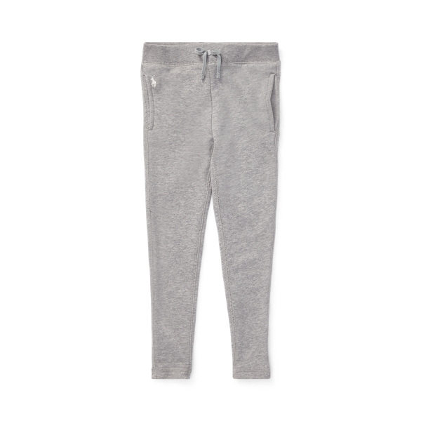 폴로 랄프로렌 여아용 레깅스 Polo Ralph Lauren French Terry Legging,Light Grey Heather