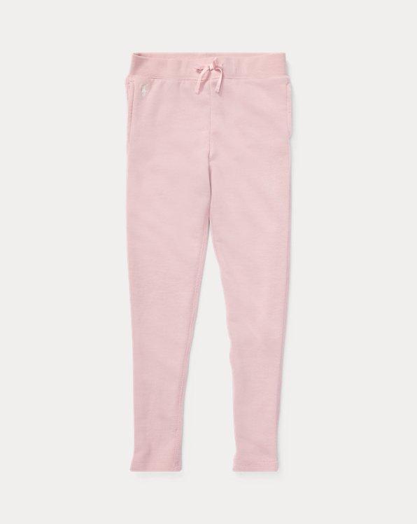 폴로 랄프로렌 걸즈 레깅스 Polo Ralph Lauren French Terry Legging,Hint Of Pink