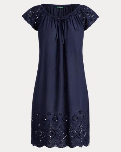 Eyelet Cotton Nightgown