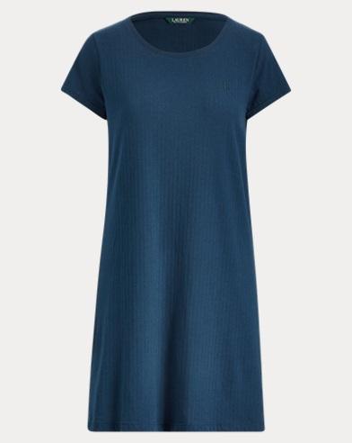 Camicia da notte in cotone