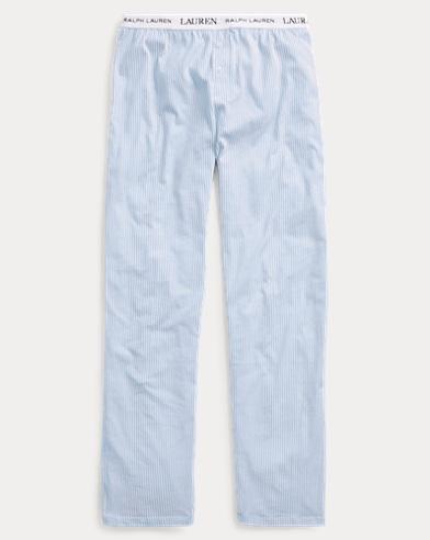 Pantalon de pyjama en jersey rayé