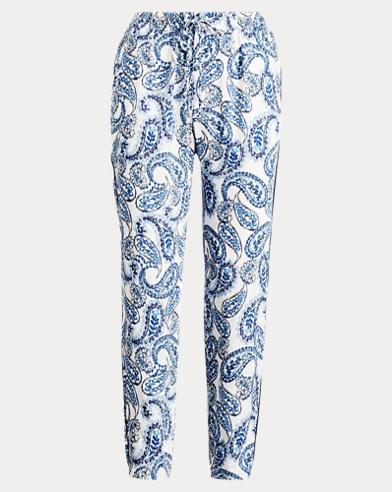 Pantaloni skinny in twill